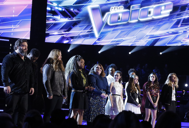 the-voice-recap-top-13-results-sandyredd tyke james-eliminated