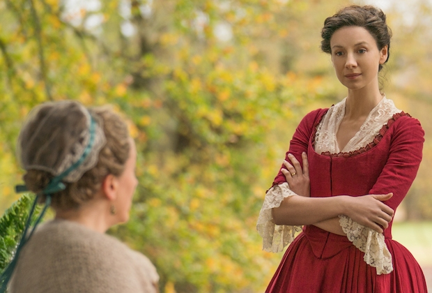 Outlander Season 4 Claire Jocasta Fight