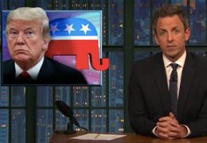 Seth Meyers Trump Ad