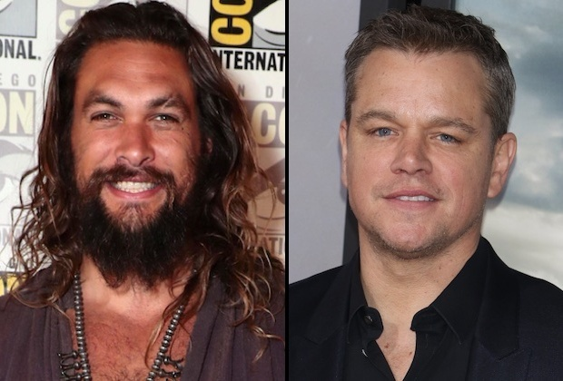SNL Hosts Jason Momoa Matt Damon