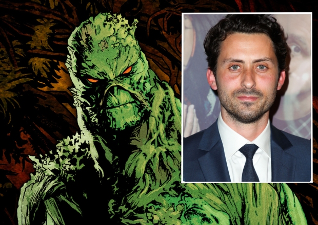 Swamp Thing Cast Andy Bean DC Universe