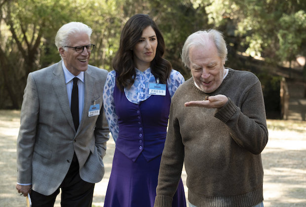 The Good Place Season 3 Episode 9 Michael Janet Doug