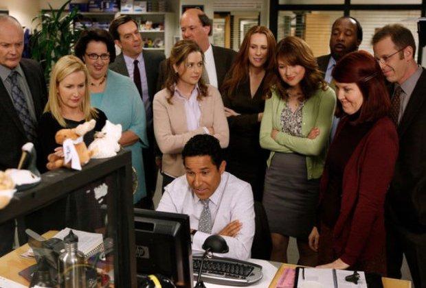 The Office Reunion Steve Carell Jenna Fischer SNL Video