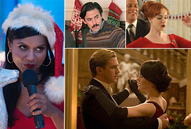 Best Christmas TV Episodes Mad Men Downton Abbey