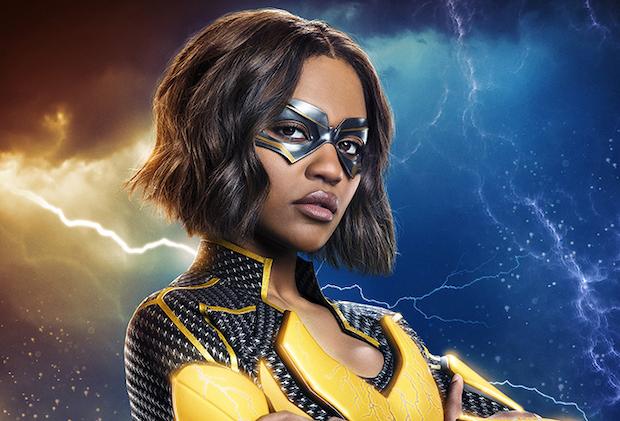 Black Lightning Jennifer Costume