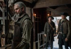 Outlander Murtagh Return Sam Heughan Interview Season 4 Episode 5