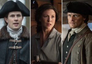 Outlander Jamie Claire Lord John Triangle Season 4