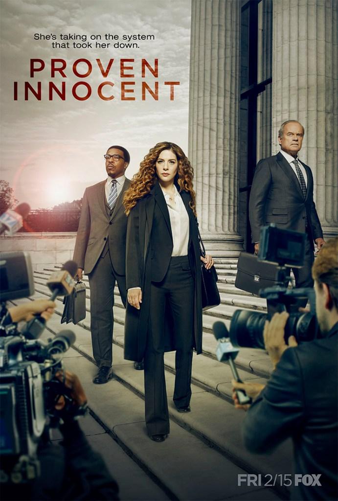 Proven Innocent Poster Season 1 Fox