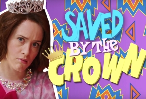 snl claire foy saved by the crown video