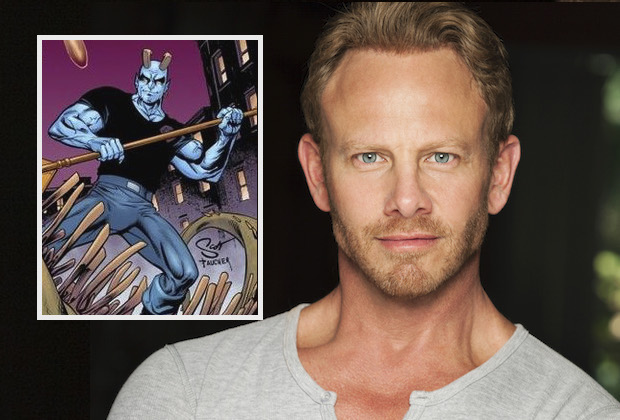 Swamp Thing Ian Ziering