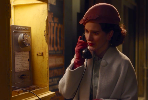 The Marvelous Mrs. Maisel Season 2 Premiere Midge Phone