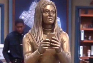 brooklyn-nine-nine-season-6-episode-4-gina-statue
