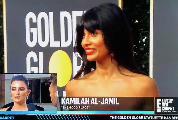 Jameela Jamil Typo Globes