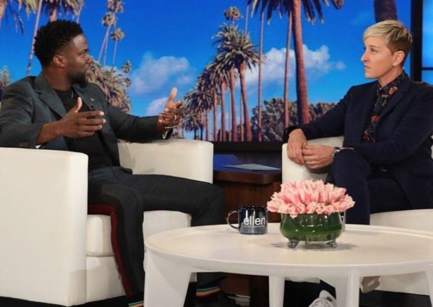 Kevin Hart Oscars Interview