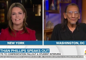 nathan phillips today show full interview video