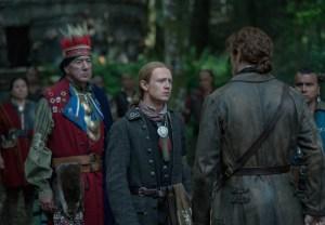Outlander Finale Season 4 Episode 13 John Bell Interview Ian Mohawk