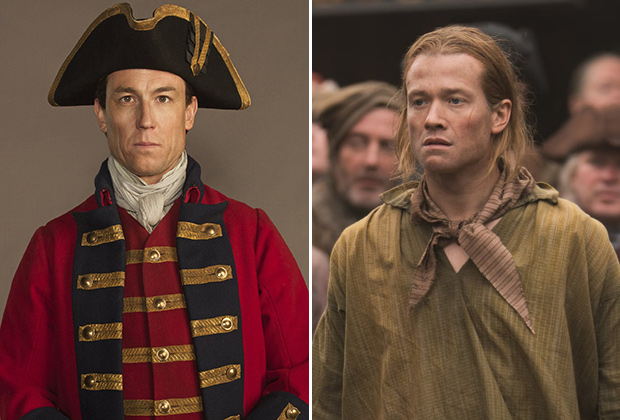 Outlander Black Jack Randall Stephen Bonnet Villains Comparison