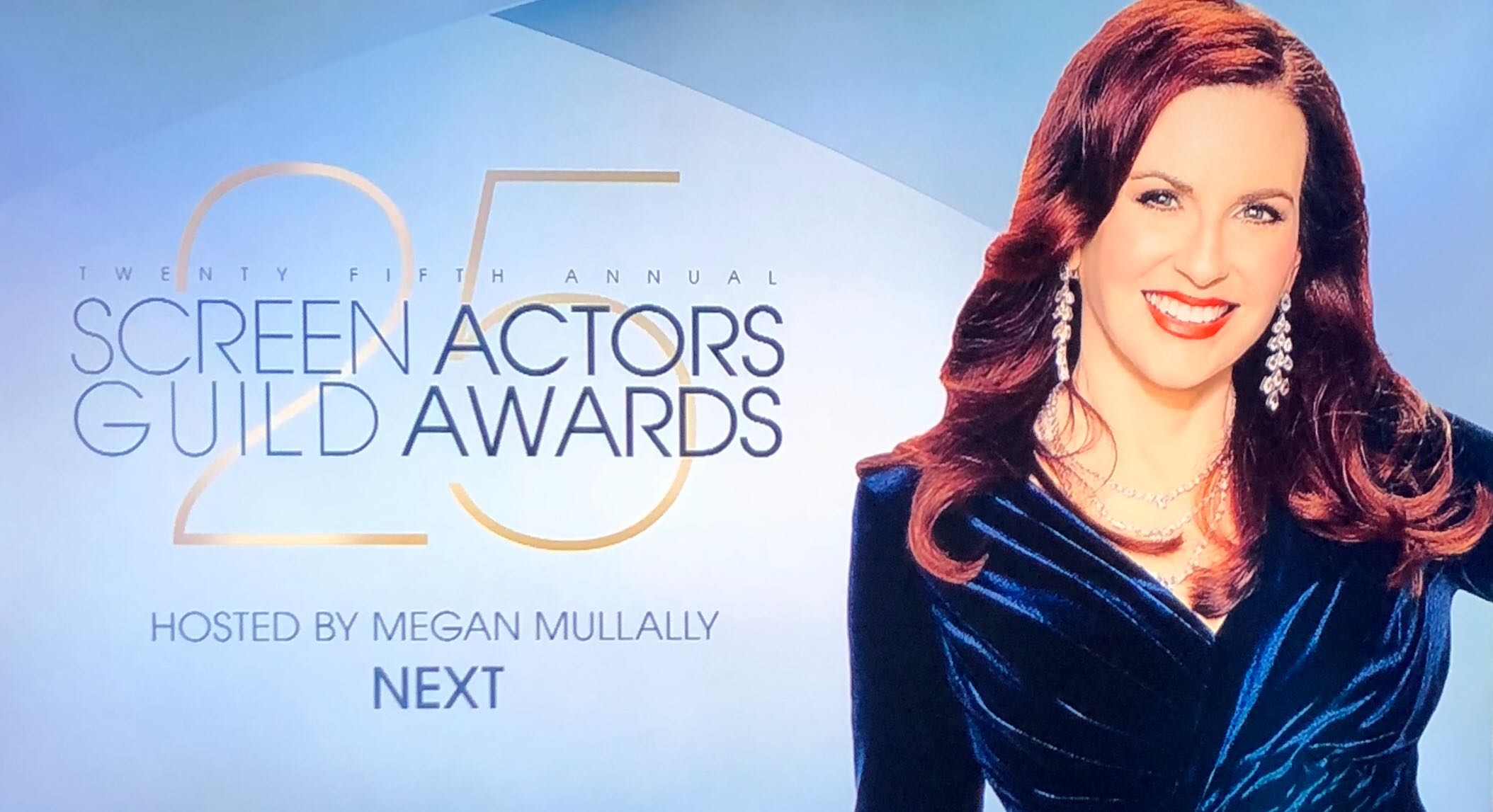 SAG Awards Megan Mullally