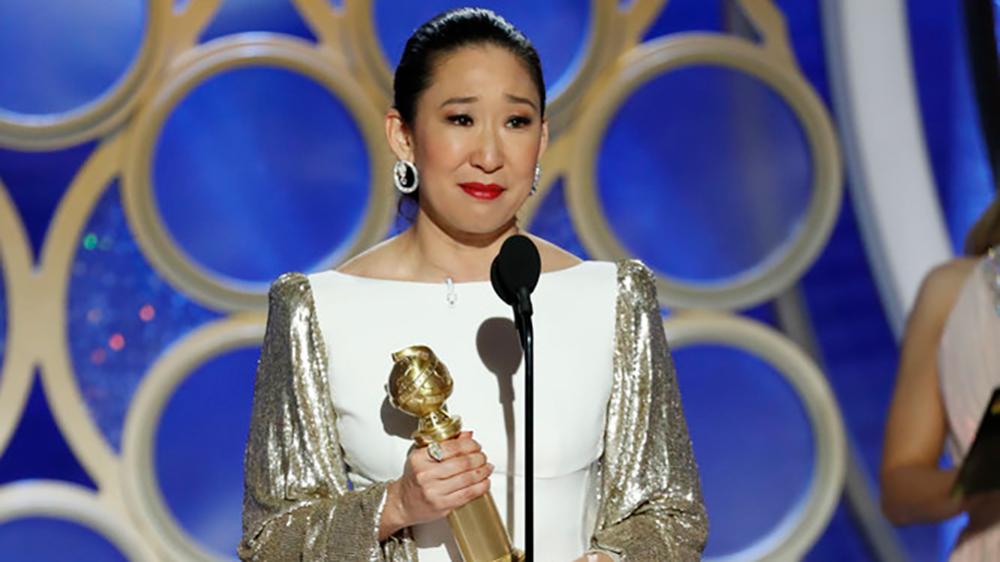 Sandra Oh Golden Globe