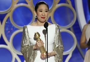 Sandra Oh Golden Globe Award