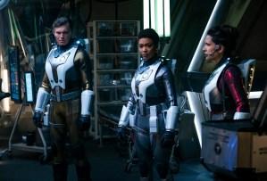 Star Trek Discovery Season 2 Premiere Pike Burnham Nhan