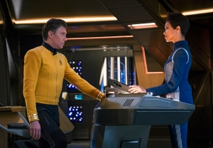 Star Trek Discovery Season 2 Premiere Pike Burnham