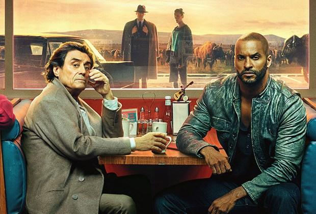American Gods Season 2 Poster Diner Motel America