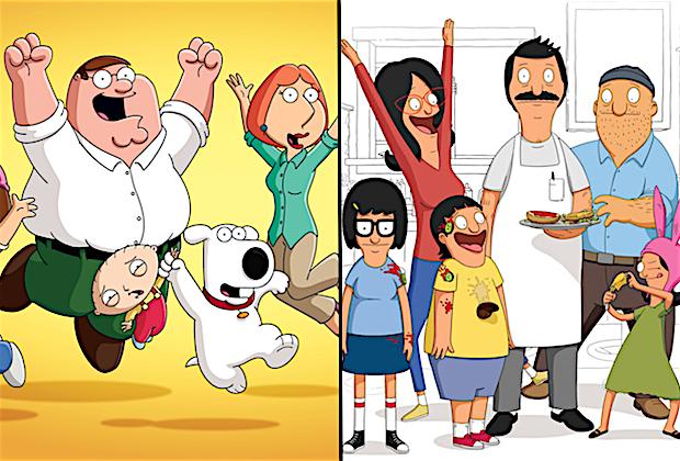 Family Guy Bob's Burgers Renewed Fox
