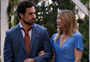 Grey's Anatomy Mer DeLuca First Kiss