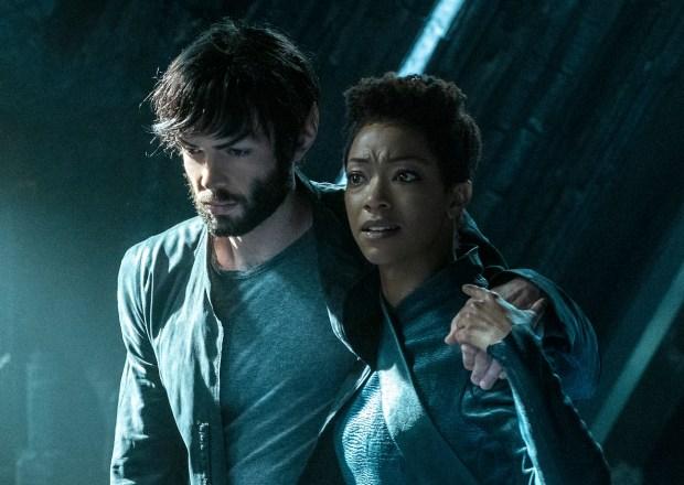 Star Trek Discovery Season 2 Episode 8 Spock Burnham