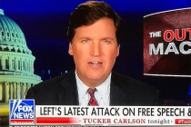 Fox News' Tucker Carlson Defends Sexist Comments on the Air as New Racist Recordings Are Released