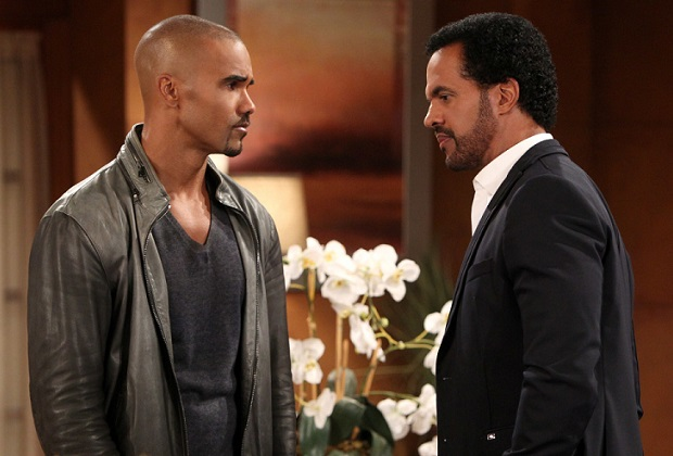 Young and the Restless Shemar Moore Kristoff St. John