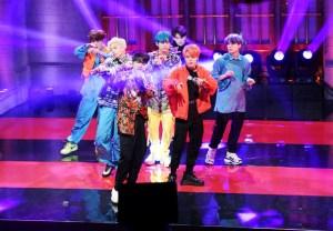 BTS on SNL -- Video