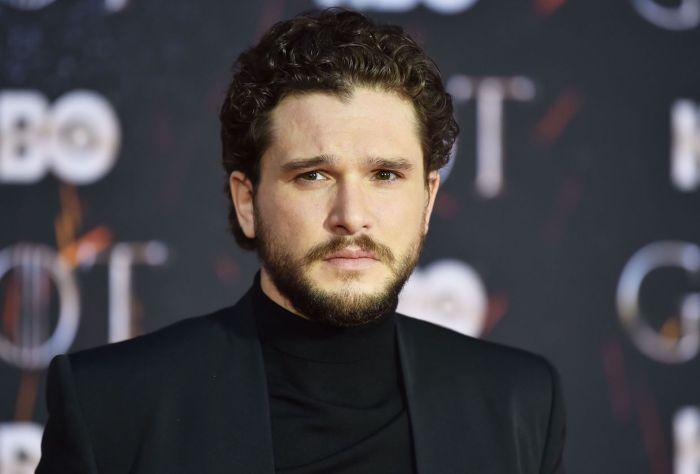 Game of Thrones Kit Harington Premiere