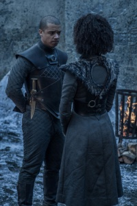 Game of Thrones Season 8 Episode 2 Grey Worm Missandei