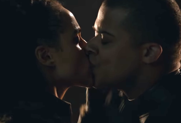 Game of Thrones Season 8 Episode 2 Grey Worm Missandei Kiss Jacob Anderson Interview