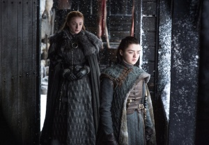 Game of Thrones Season 8 Sophie Turner Sansa Arya Interview