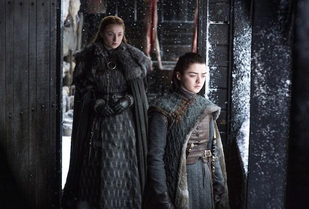 Game of Thrones Season 8 Sophie Turner Sansa Arya Interview