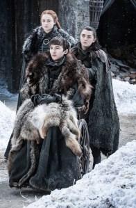 Game of Thrones Sophie Turner Season 8 Sansa Arya Interview