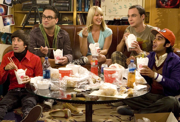 The Big Bang Theory - Series Premiere Pilot Cast Photo