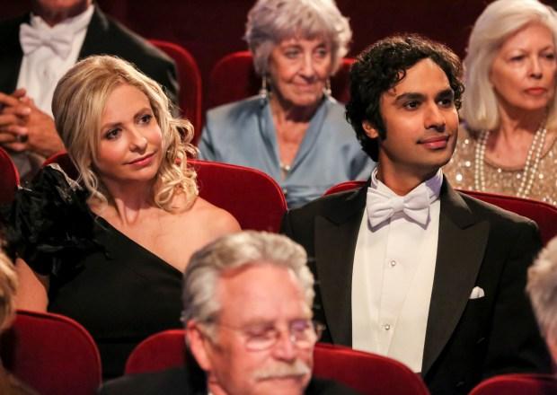 Sarah Michelle Gellar on The Big Bang Theory