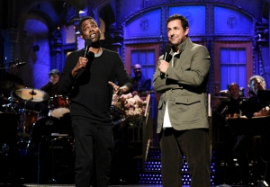 Adam Sandler - I Got Fired From SNL with Chris Rock