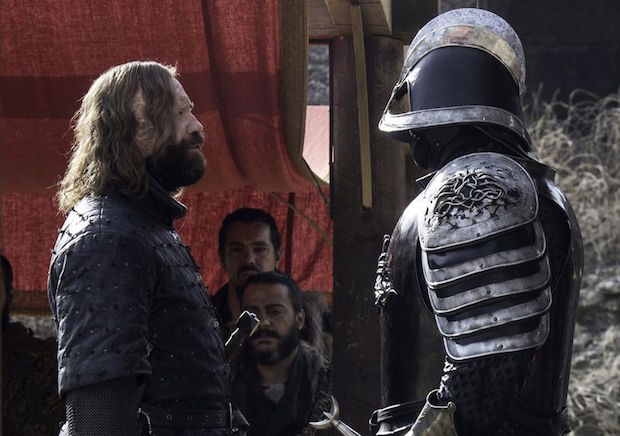 Game of Thrones Cleganebowl Season 8 The Hound Mountain