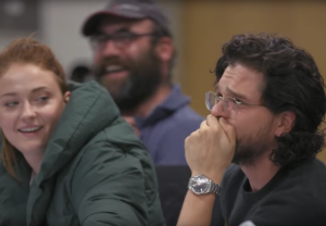 Game of Thrones Documentary Trailer Season 8 Kit Harington Crying Table Read