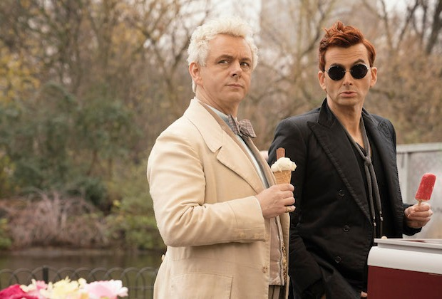Good Omens Cast Neil Gaiman Adaptation Amazon