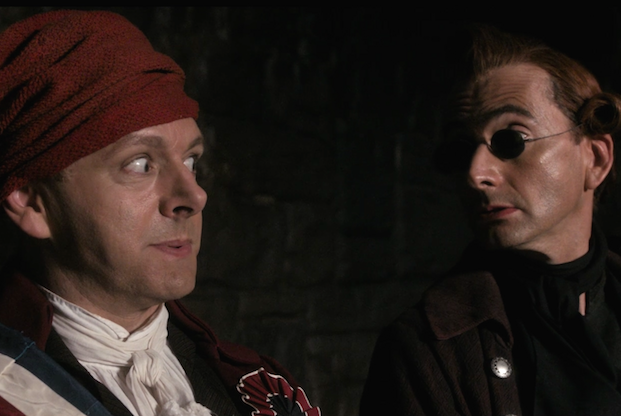 Good Omens Episode 3 Crowley Aziraphale Friendship Cold Open
