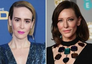 Sarah Paulson Cate Blanchett