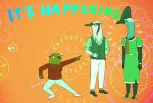 Tuca and Bertie Netflix Episode 2 Animation