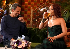 Rihanna Day Drinking with Seth Meyers