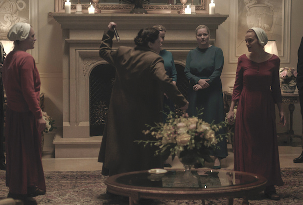 The Handmaids Tale Season 3 Episode 4 Lydia Janine Attack